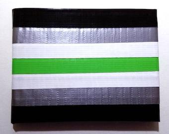 Agender Pride Flag Duct Tape Wallet