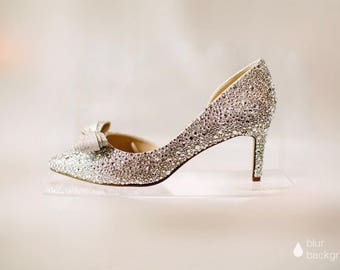 Beautiful Crystal Wedding and Occasion Shoes