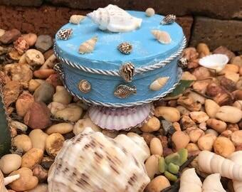 Beach Jewellery Box