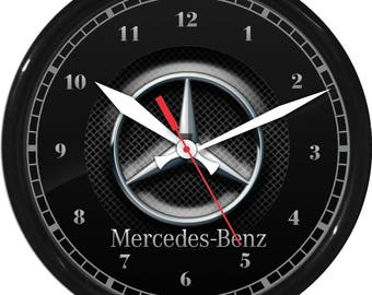 Mercedes benz logo etsy for Mercedes benz gift shop