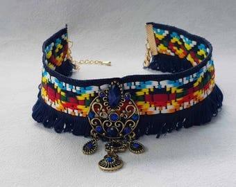 """Ethnic necklace """" Péruvienne 'inspiration"""