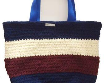 Summer Bag, Beach Bag, Large Market Bag, Crochet Bag