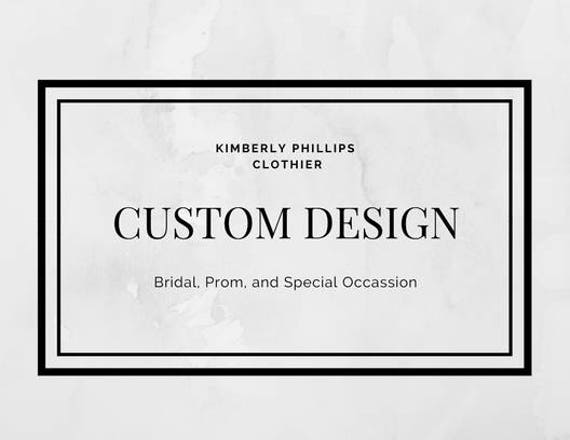 Custom Order- tdavis12323- Custom Prom Dress, White and Lilac -kphillipsclothier