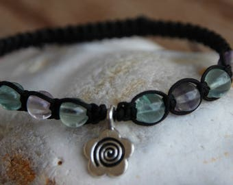 shamballa bracelet with fluorite bead