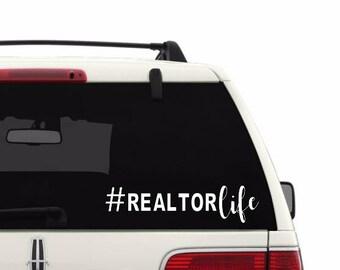 Realtor Life Decal