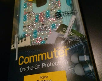 NEW Otterbox Commuter Samsung Galaxy Note 4 Case Aqua Sky