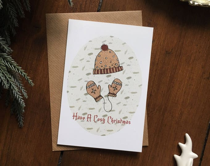 Have A Cosy Christmas Card - Single