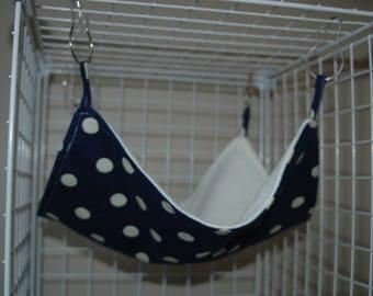 Flat hammock for rat or ferret