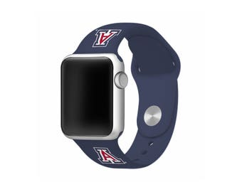 WATCH BAND ONLY - University of Arizona Wildcats Silicone Sport Band Fits Apple Watch™ - Officially Licensed