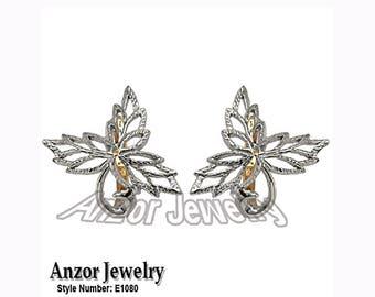 925 Sterling Silver Design Earrings E1080