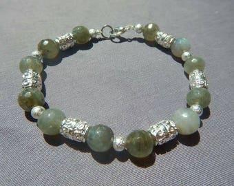 Labradorite gemstone mineral bracelet high quality chakra reiki meditation natural gift jewelry genuine gift