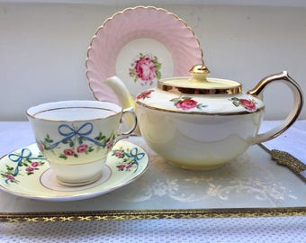 NOT for SALE Reserved for K The Most Utterly Adorable Vintage Sudlows Teapot