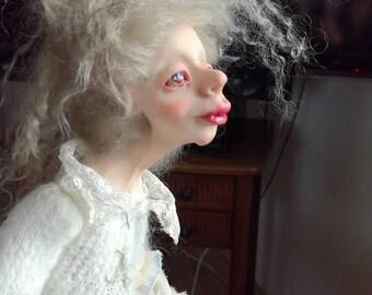 Angel Artdoll Vintage Kunstpuppe handmade Künstlerische Puppe Irena