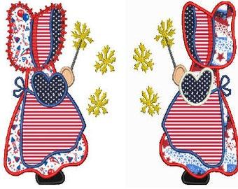 2 Sunbonnet Sues doll 6 machine embroidery Applique,4 sizes,8 formats(dst,exp,jef,hus,pes,vip,vp3,xxx),instant download,2 zips