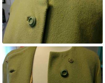 25%OFF Stroock Precia Evening Coat Mint Olive Green Lg fits Modern 14/16