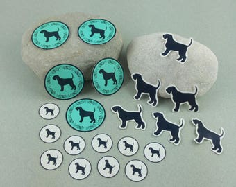 "Big sticker set ""Giant Schnauzer"""