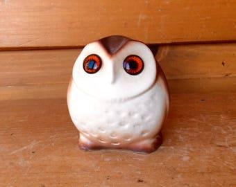 Rare Roselane Owl Big Eyes Anthropomorphic 1960 Excellent