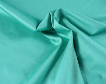 1 mètre de denim stretch turquoise, corail ou fushia