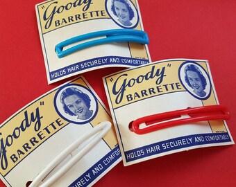 "Vintage ""Goody"" barrette hair clip"