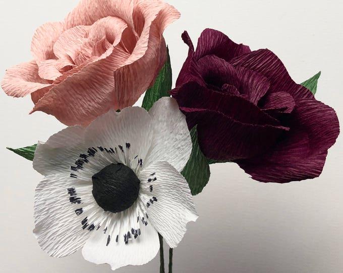 Alexa Rose Paper Bouquet