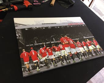 Manchester United 1999 Squad LIMITED EDITION Canvas