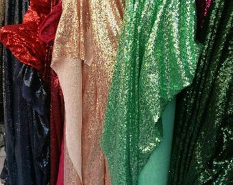 Coupon 1 m x 1.40 light green Sequin fabric m for Embelissement decoration holiday cushion dressing Costumes
