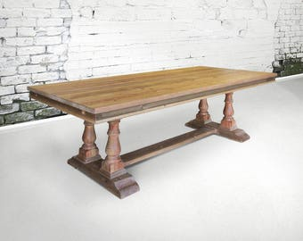 Table, Dining Table, Reclaimed Wood, Wood Table, Rustic, Handmade