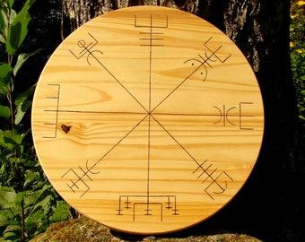 Viking shields, house shields, rune shields, Norse shields, talisman shields, Celtic shields, Viking symbols, Celtic symbols, vegvisir