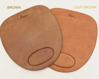 Leather Mouse Pad Wrist Protection Design Mouse Mat
