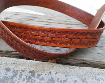 Handmade 1.5 in Belt 100% USA Made