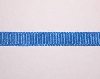 1/4 in Blue Grosgrain Ribbon
