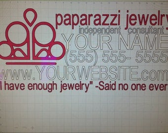 I have enough.. Paparazzi Jewelry car decal