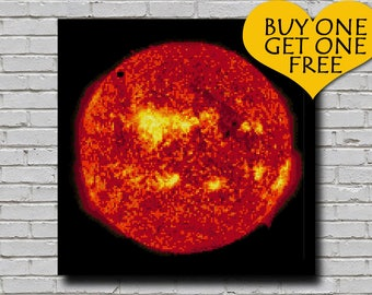 Cross Stitch Pattern The Sun Decor Solar System Embroidery Outer Space Universe xstitch Diy Chart Downloadable