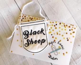 Black Sheep Mini Banner Wall Hanging