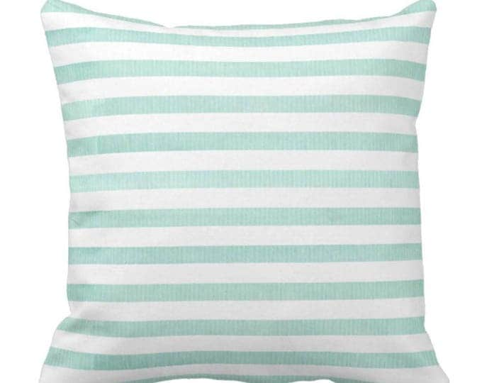 Light and Breezy Pastel Striped Decorative Throw Pillow