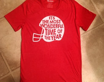 It's the most wonderful time of the year football season shirt