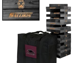 Southern Illinois Carbondale Salukis Engraved Giant Victory Tower