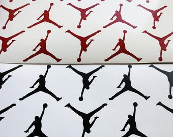 Set-16 -2.0''Jordan vinyl decals.