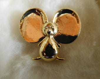 Vintage Gold Tone Mouse Pin