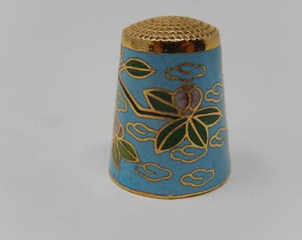 Old Thimbles, China Cloisonne, Free Shipping!
