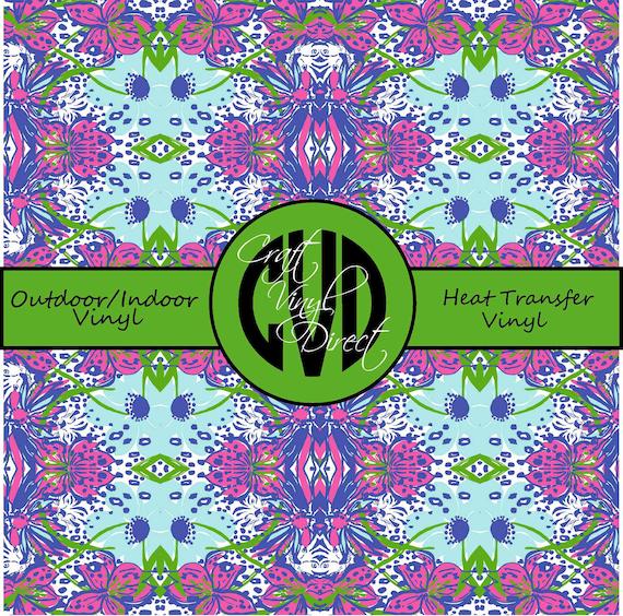 Beautiful Patterned Vinyl // Patterned / Printed Vinyl // Outdoor and Heat Transfer Vinyl // Pattern 84