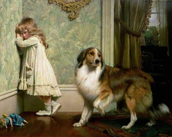 Charles Burton Barber Special Pleader - Poster A3 or A4 Matt, Glossy or Art Canvas Paper