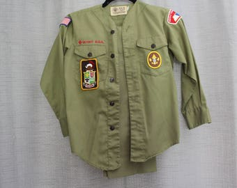 Vintage Boy Scouts of America Uniform (Shirt and pants)