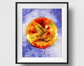 The Sun Poster, The Sun Wall Art, The Sun Print, Nursery Wall Art, Kids Room Art, Nursery Prints, Home Decor (N325)