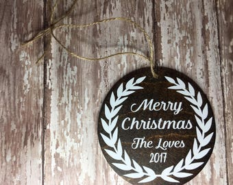 Personalized Christmas Ornaments | Wood Christmas Ornaments | Christmas | Ornaments | Custom Ornaments | Custom Christmas Ornaments