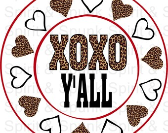 XOXO Y'all (digital file)
