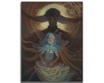 Unbirth 8.5 x 11 Art Print
