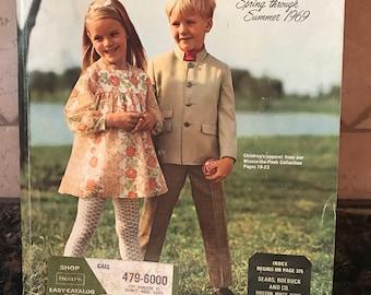Vintage Sears Roebuck Catalog catalogue spring summer 1969
