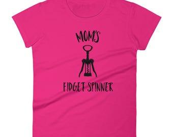Mom's Fidget Spinner Women's short sleeve t-shirt