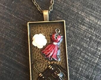 Dress necklace | purse necklace